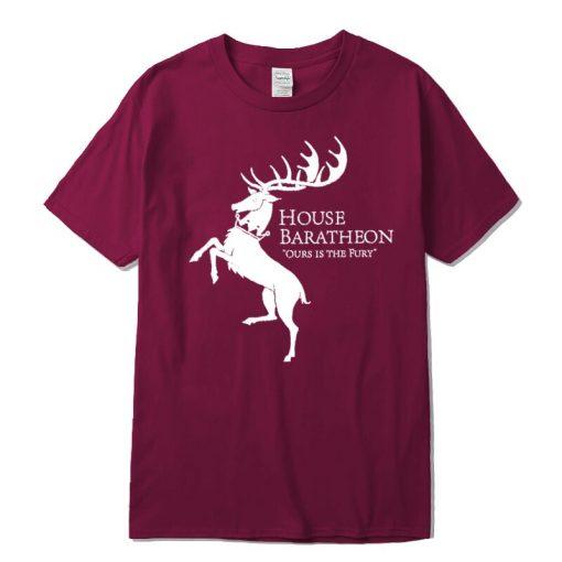 Men new Game of Thrones Men T Shirt100 cotton short Game of Thrones sleeve Men T 4