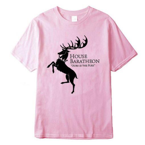 Men new Game of Thrones Men T Shirt100 cotton short Game of Thrones sleeve Men T 5