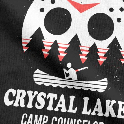Men s Crystal Lake Camp Counselor T Shirt The 13 Friday Jason Horror 13Th 100 Premium 2