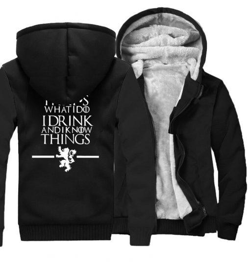 Men s Hoodies 2018 Fashion Casual Streetwear Thick Sweatshirts Harajukju Valar Morghulis Hoodie For Men Game 1