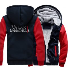 Men s Hoodies 2018 Fashion Casual Streetwear Thick Sweatshirts Harajukju Valar Morghulis Hoodie For Men Game