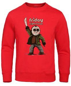 Men s Hoodies Friday the 13th Horror Prison Autumn Hoodie Hip Hop Sweatshirt Jason Voorhees Pullover 2