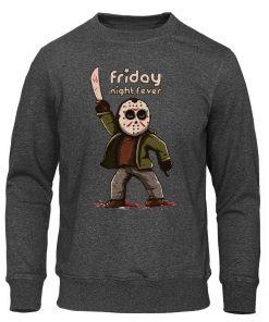 Men s Hoodies Friday the 13th Horror Prison Autumn Hoodie Hip Hop Sweatshirt Jason Voorhees Pullover