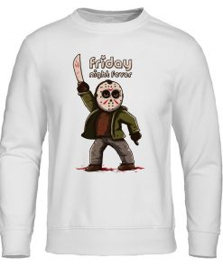 Men s Hoodies Friday the 13th Horror Prison Autumn Hoodie Hip Hop Sweatshirt Jason Voorhees Pullover 3
