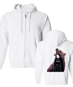 Men s Hoodies Game Of Thrones Lady Mormont Badass The North Remembers Artwork Awesome Zipper Fleece 1