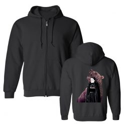 Men s Hoodies Game Of Thrones Lady Mormont Badass The North Remembers Artwork Awesome Zipper Fleece