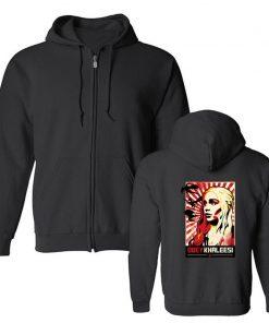 Men s Hoodies Khaleesi Daenerys Targaryen Mother Of Dragon Game Of Thrones Hooded Cool Fleece Sweatshirt