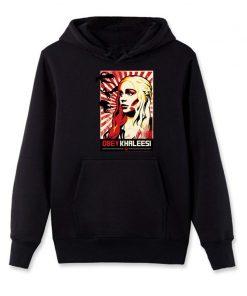 Men s Hoodies Khaleesi Daenerys Targaryen Mother Of Dragon Game Of Thrones Hooded Cool Fleece Sweatshirt 3
