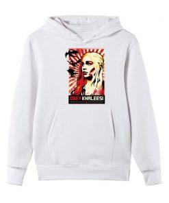 Men s Hoodies Khaleesi Daenerys Targaryen Mother Of Dragon Game Of Thrones Hooded Cool Fleece Sweatshirt 4