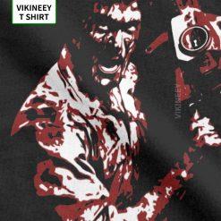 Men s TShirt 1981 s Evil Dead Cotton Tee Shirt Short Sleeve Horror Movie Scary Friday 3