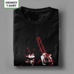 Men s TShirt 1981 s Evil Dead Cotton Tee Shirt Short Sleeve Horror Movie Scary Friday 4