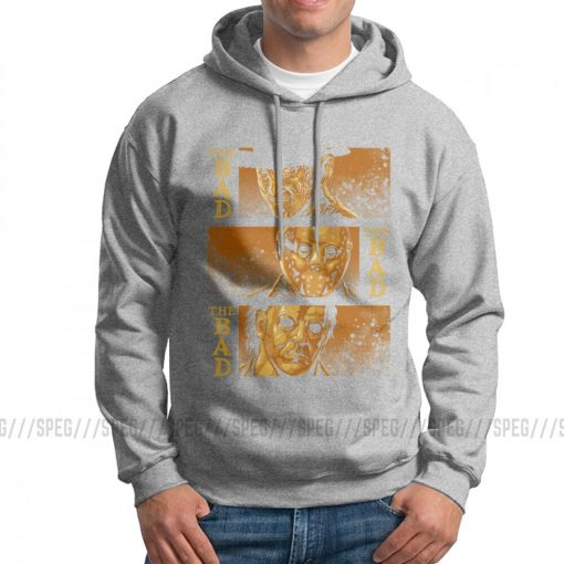 Men s The Bad Friday The 13th Hoodies Michael Myers Texas Chainsaw Massacre Horror Clothes Printed 2