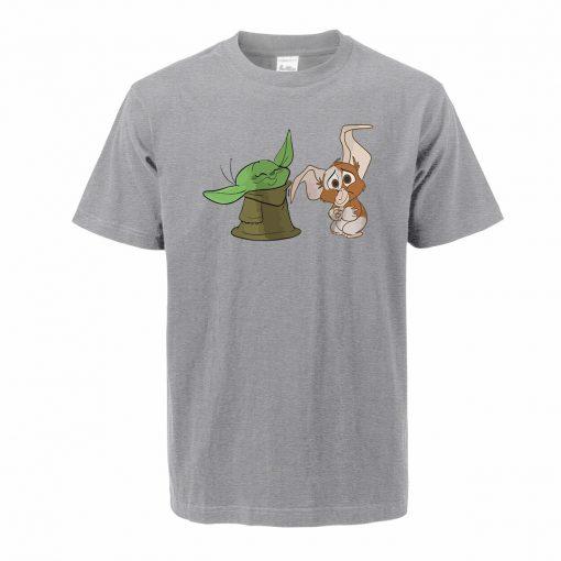 Men s Tshirt The Mandalorian Child Yoda Hip Hop Oversized T Shirt Summer Cotton Baby Yoda 1