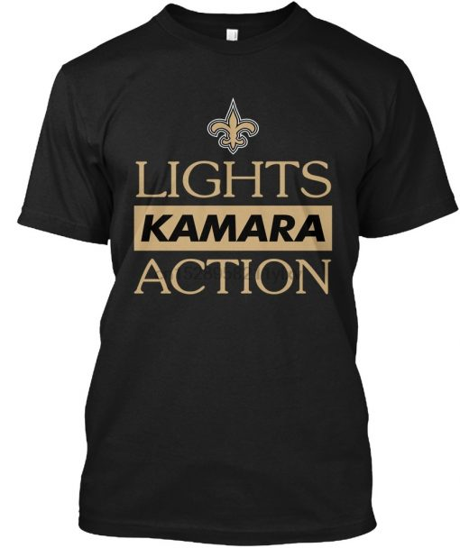 Men t shirt Lights Kamara Action Football New Orlean tshirts Women t shirt
