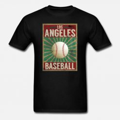 Men t shirt Los Angeles Baseball Vintage Gift Idea Women t shirt