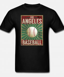 Men t shirt Los Angeles Baseball Vintage Gift Idea Women t shirt