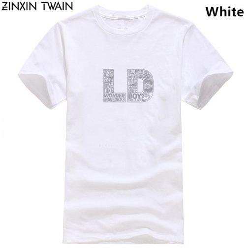 Men tshirt Luka Doncic Word Collaboration Design White Unisex T Shirt Printed T Shirt tees top 12