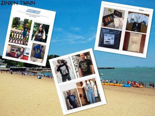Men tshirt Luka Doncic Word Collaboration Design White Unisex T Shirt Printed T Shirt tees top 14