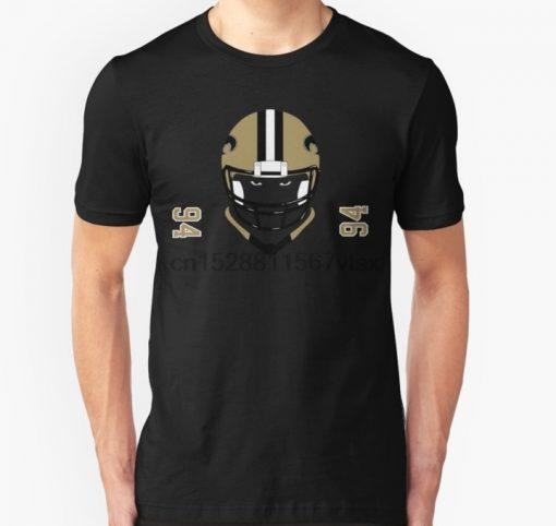 Men tshirt New Orleans Football T Shirt Printed T Shirt tees top