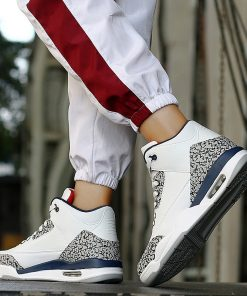 Mens Basketball Shoes High Quality Jordan Shoes Zapatillas Basquetball Hombre Air Cushioning Basketball Sneakers Men Retro 5