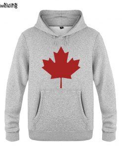 Mens Hoodies Canada or Toronto Maple Leaf Printed Hoodie Men Fleece Long Sleeve Man s Sweatshirt