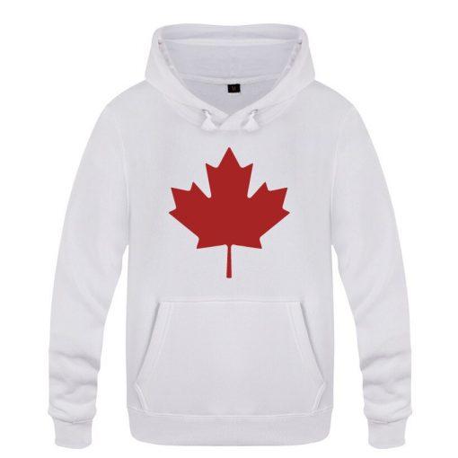Mens Hoodies Canada or Toronto Maple Leaf Printed Hoodie Men Fleece Long Sleeve Man s Sweatshirt 4