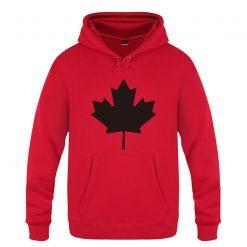 Mens Hoodies Canada or Toronto Maple Leaf Printed Hoodie Men Fleece Long Sleeve Man s Sweatshirt 5
