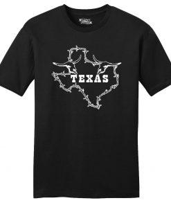 Mens Texas Graphic Soft Tee Lonestar Home Texan Shirt