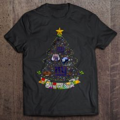 Merry And Bright New Streetwear Harajuku York 100 Cotton Men S Tshirt Giants Christmas Tree Tshirts