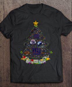 Merry And Bright New Streetwear Harajuku York 100 Cotton Men S Tshirt Giants Christmas Tree Tshirts