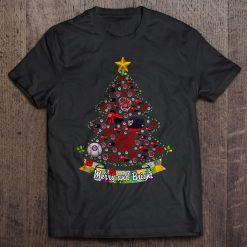 Merry And Bright Washington Streetwear Harajuku 100 Cotton Men S Tshirt Nationals Christmas Tree Tshirts