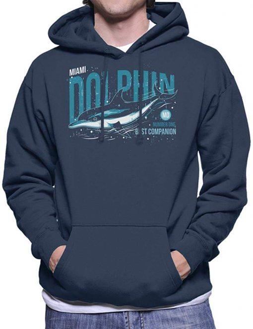 Miami Dolphin Men s Hooded Sweatshirt Men Women Hoodie Sweatshirt