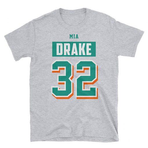 Miami Football Jersey Dolphin Kenyon Drake T Shirt