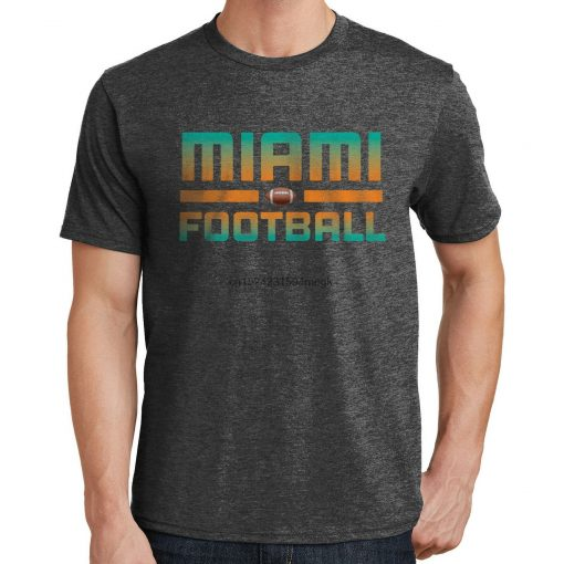 Miami Football T Shirt Dolphins Sports Team 3283