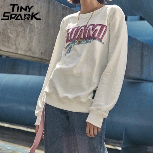 Miami Pullover Sweatshirt Pink Letter Print Men Hip Hop Pullover Sweatshirt Hoodie 2018 Autumn Heat Clothing 4