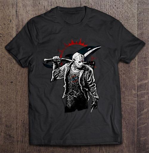 Miami Streetwear Harajuku 100 Cotton Men S Tshirt Dolphins Friday The 13Th Tshirts