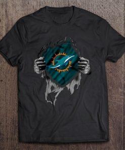 Miami Streetwear Harajuku 100 Cotton Men S Tshirt Dolphins Tshirts