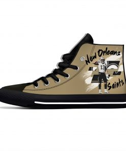 Michael Thomas New Orleans Football Star Fans Fashion Lightweight High Top Canvas Shoes Men Women Casual 1