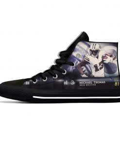 Michael Thomas New Orleans Football Star Fans Fashion Lightweight High Top Canvas Shoes Men Women Casual