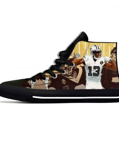 Michael Thomas New Orleans Football Star Fans Fashion Lightweight High Top Canvas Shoes Men Women Casual 3