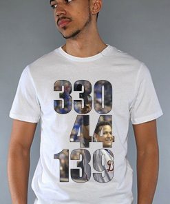 Miguel Cabrera Shirt Tigers Detroit 24 MVP Miggy Triple Crown Stats White Shirt