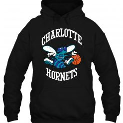 Mitchell Ness Charlotte Hornets Larry Johnson Caricattrad Chahor Roy Streetwear men women Hoodies Sweatshirts scaled
