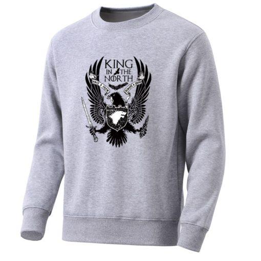 Movie Game Of Thrones Men Hoodie Knife Not Today Print Mens Sweatshirt Arya Stark Fashion Men 3