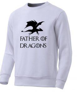 Movie Game Of Thrones Men Hoodies Sweatshirts Dragons Mens Sweatshirt Spring Hot Casual Fleece Pullover Male 2