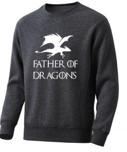 Movie Game Of Thrones Men Hoodies Sweatshirts Dragons Mens Sweatshirt Spring Hot Casual Fleece Pullover Male
