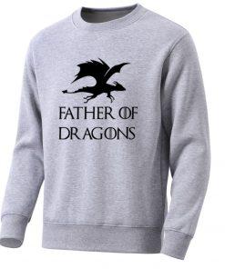 Movie Game Of Thrones Men Hoodies Sweatshirts Dragons Mens Sweatshirt Spring Hot Casual Fleece Pullover Male 3
