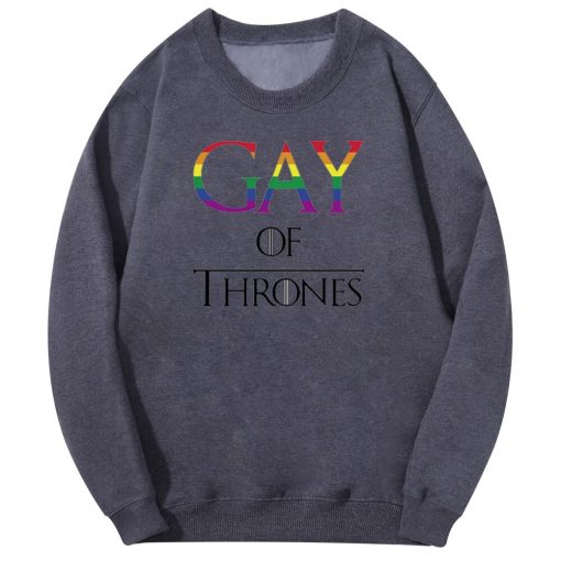 Movies Game Gay Of Thrones Men S Hoodies Sweatshirts Spring Autumn Fleece Long Sleeve Warm Men 1