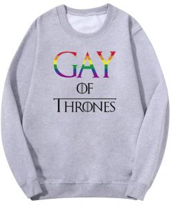 Movies Game Gay Of Thrones Men S Hoodies Sweatshirts Spring Autumn Fleece Long Sleeve Warm Men