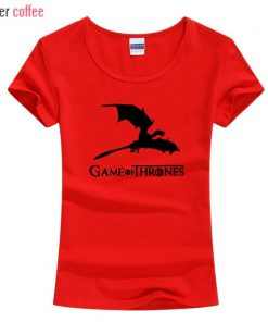 NEW Game of Thrones kawaii harajuku t shirt women cotton short sleeve casual tee shirt femme 1