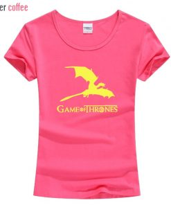 NEW Game of Thrones kawaii harajuku t shirt women cotton short sleeve casual tee shirt femme 2